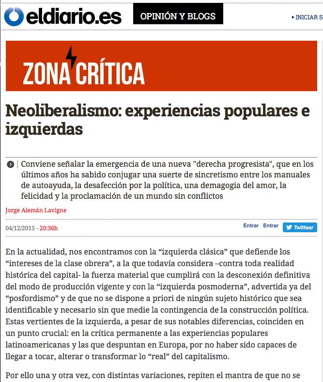 Jorge Alemán. Capitalismo, psicoanálisis. Estudiar psicoanálisis en Madrid