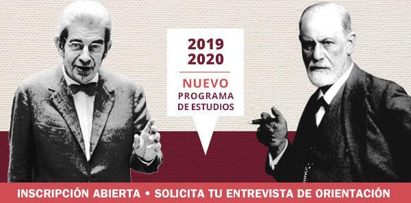 Programa de estudios 2019-2020. Estudiar psicoanálisis en Madrid. Centro de estudios de psicoanálisis de Madrid. Cursos de psicoanálisis Madrid
