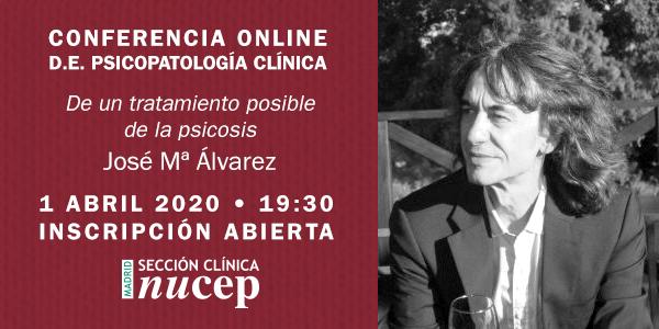 Conferencia Online José María Álvarez