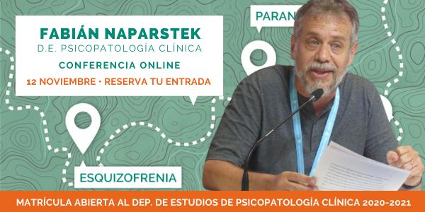 Conferencia de Fabián Naparstek. Departamento de Estudios de Psicopatología Clínica