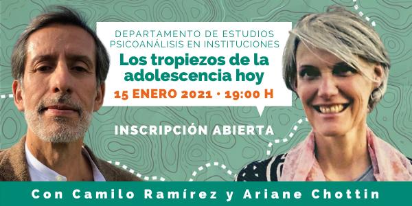 Los tropiezos de la adolescencia hoy con Camilo Ramírez y Ariane Chotin